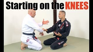 Download What To Do When You're Starting BJJ Sparring On Your Knees Video