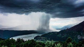 Download Tsunami from Heaven / Amazing Rainstorm Timelapse / Downburst / Microburst Video