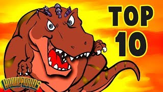 Download Top 10 Dino Songs - Dinosaur Songs for Kids from Dinostory by Howdytoons Video