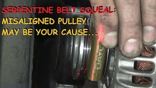 Download Tool Time: Squealing Belts, Laser Beams and Pulley Alignment, WHAT!? Video