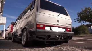 Download VW Caravelle T3 with V8 Twin Turbo - 1200hp / 1500Nm Video