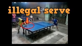 Download PING PONG ILLEGAL SERVE TRICKS Video