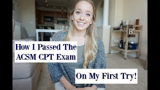 Download The ACSM CPT Exam | What You Need To Know Video