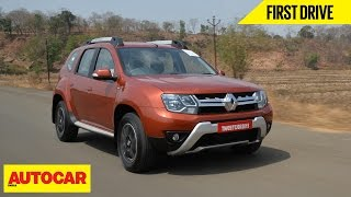 Download Renault Duster Easy-R AMT | First Drive | Autocar India Video