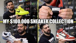Download MY ENTIRE $100,000 SNEAKER COLLECTION!! *BEST ON YOUTUBE* Video