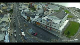 Download Salthill in Galway Ireland, 4K Drone Aerial View Video