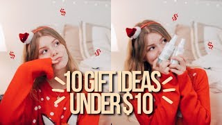 Download 10 CHRISTMAS GIFT IDEAS UNDER $10! teen christmas gift guide!! Video