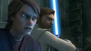 Download Star Wars: The Clone Wars - Anakin Skywalker & Obi-Wan Kenobi vs. Count Dooku [1080p] Video
