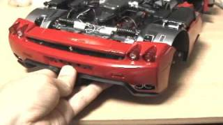 Download 1/10 model Ferrari Enzo making Video