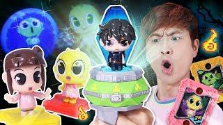 Download 신비아파트 고스트볼X의 탄생 한정판 고스트볼 X블루 하리 강림 스페셜 세트 장난감 놀이 Video
