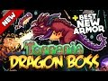 Download BRAND NEW TERRARIA UPDATE!! NEW BOSS, BEST ARMOR & ALL ITEMS + HOW TO SPAWN THE DRAGON BOSS (1.3.4) Video