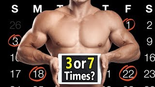Download How Many Times a Week Should You Workout (3 or 7)   How often should you lift weights & do cardio? Video