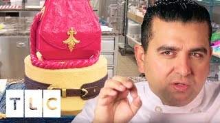 Download Italian Leather Handbag Cake | Cake Boss Video
