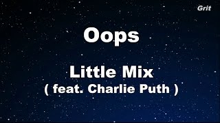 Download Oops - Little Mix Karaoke 【No Guide Melody】 Instrumental Video