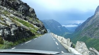 Download Driving Trollstigen in Thunder Storm (FULL HD HQ, Norway) Video