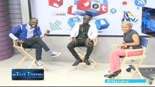 Download Tiga Wana! Willy Paul and Size 8 take on their critics - #theTrend Video