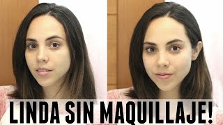 Download CÓMO VERTE LINDA SIN MAQUILLAJE EN 5 MINUTOS! | What The Chic Video