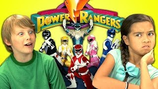 Download KIDS REACT TO POWER RANGERS Video