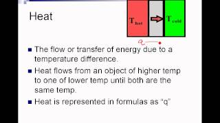 Download Thermochemistry Intro Video