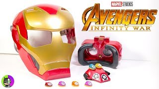 Download Avengers Infinity War ″HERO VISION IRON MAN HELMET″ by Hasbro Unbox Video