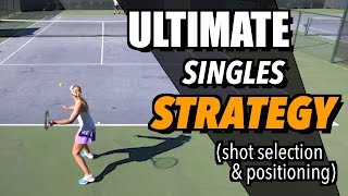 Download Tennis Singles Strategy - Tactics and Positioning - How To Play Singles Video