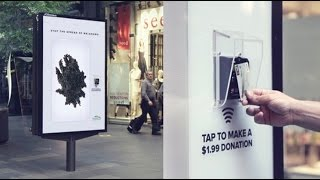 Download Contactless Payment Donation Campaign for Melanoma Institute | JCDecaux Australia Video