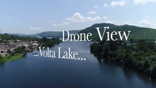 Download Drone View - Volta Lake Video