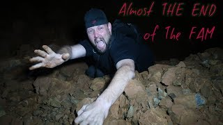 Download FALLING DOWN A (MINESHAFT) WHILE EXPLORING AN ABANDONED MINE Video