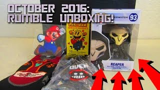 Download October 2016: RUMBLE Loot Gaming Unboxing! Video