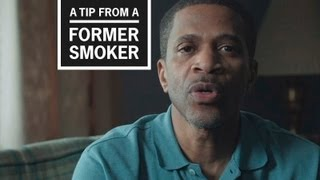 Download CDC: Tips from Former Smokers - Roosevelt's Ad Video