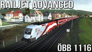 Download Railjet Advanced - ÖBB 1116 ″Taurus″ (Train Simulator 2016) Video