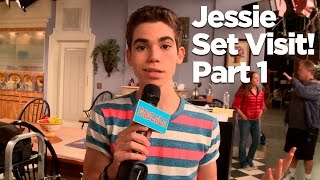 Download Behind The Scenes of the ″Jessie″ Set with Cameron Boyce! Part 1 Video