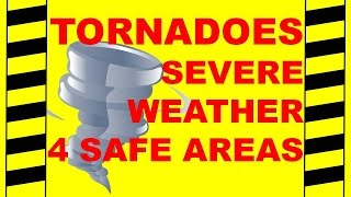 Download Tornadoes: 4 Safe Areas - Severe Weather Safety - Safety Training Video Video