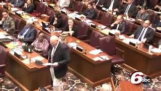 Download Former Ben Davis coach delivers powerful message to lawmakers as team is honored for Championship Video