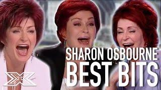 Download Sharon Osbourne's Funniest Moments!   X Factor Global Video