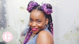 Download 3 Cute AF Ways to Style Box Braids | Lay Your Edges Video