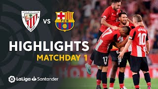 Download Highlights Athletic Club vs FC Barcelona (1-0) Video