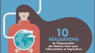 Download 10 réalisations de l'Organisation des Nations Unies pour l'alimentation et l'agriculture Video