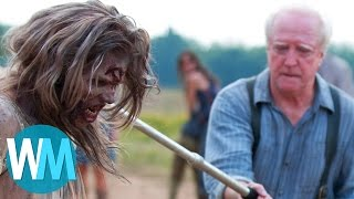 Download Top 10 Most Shocking Walking Dead Moments Video