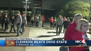Download Fan reaction after Clemson beats Ohio State Video