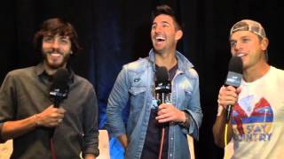 Download Jake Owen with Chris Janson and Dustin Lynch Video