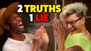 Download 2 TRUTHS, 1 LIE - WATER CHALLENGE (Squad Vlogs) Video