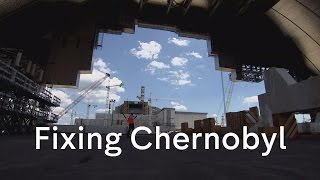Download Chernobyl: urgent rush to repair nuclear reactor dome Video