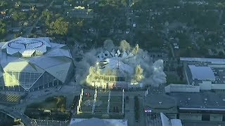 Download Atlanta's Georgia Dome demolished after just 25 years Video