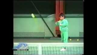 Download Novak Djokovic - at the age of 6 years and a half Video
