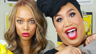 Download WHATS IN MY BAG WITH TYRA BANKS | PatrickStarrr Video