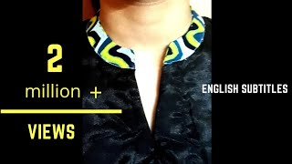 Download Easy Cutting & Stitching of Round Collar Neck 2018 Video