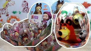 Download Маша и Медведь (Masha and The Bear) 12 Giant Kinder Surprise Eggs Video