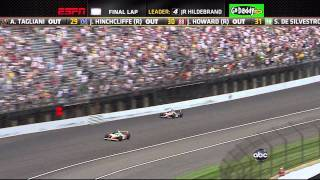 Download Indy 500 Race - 2011 Winner - Exciting Final 4 Laps - Down to Last Turn Video