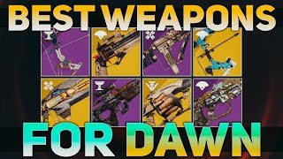 Download Weapons for Season of Dawn you should have (New Artifact Mods) | Destiny 2 Best Weapons Video